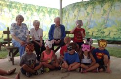 Intergenerational activities in the summer